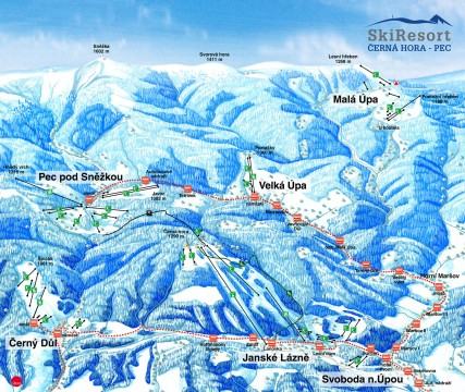 New Mapa SkiResort JL-PEC 2013